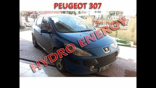 Peugeot 307 hidrojen yakıt sistem montajı
