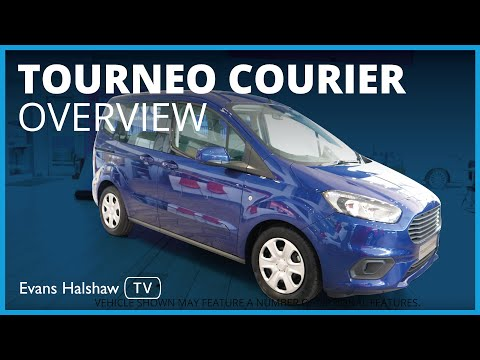 Ford Tourneo Courier 2019 Review | Evans Halshaw Ford