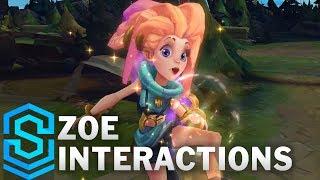 Zoe Special Interactions