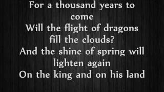 Fairyland -  Rebirth Lyrics