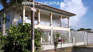 preview picture of video 'Vakantiewoning Suriname - Vakantiehuis Paramaribo: Lewensteinstraat - Holiday House for rent'