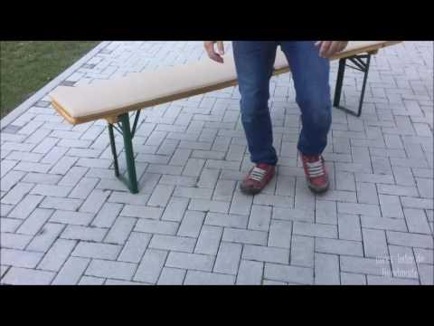 Corex Produktvideo Bierbankauflage Antirutsch Festzeltgarnitur rutschfest
