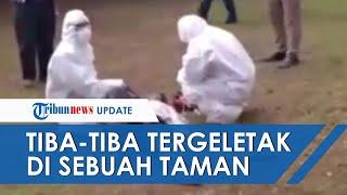 Viral Video Pria Terkapar di Taman Dekat Kantor Wali Kota Jaktim, Suhu Disebut Capai 41 Derajat