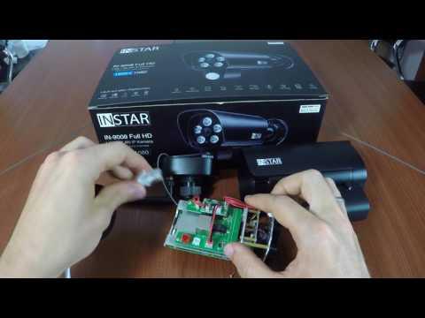 INSTAR IN-9008 Full HD Indoor IP Camera Manual Lense Adjustment