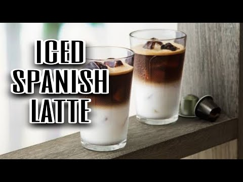 How to make iced spanish latte/iced latte recipe /brother's cooking recipe
