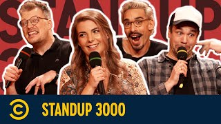 Lobeshymnen und Datingpannen | Standup 3000 | S06E07 | Comedy Central Deutschland