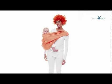 Wallaboo Слинг-петля из хлопка poppy red