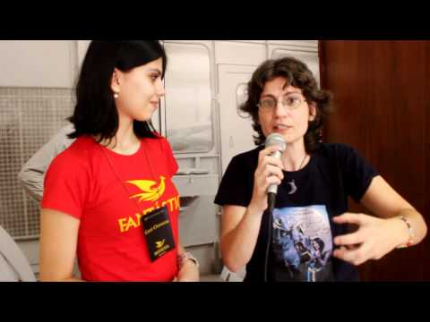 Entrevista de Ana Lúcia Merege sobre o Castelo das Águias (Fantasticon 2011)