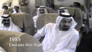 First Emirates Flight   Milestone series - 1985   Emirates Airline