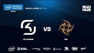 IEM Oakland - SK Gaming vs NiP - de_cobblestone - [Enkanis, yxo]