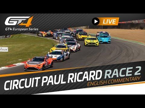 RACE 2 - PAUL RICARD - GT4 European Series 2019 - ENGLISH