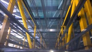 Fastest lift/elevator in Europe!! Kone @ Leadenhall Building (aka. Cheese Grater)
