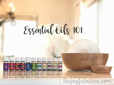 Essential Oils 101 Class for Beginners