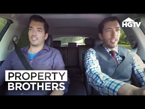Love At First Pizza | Property Brothers At Home: Drew's Honeymoon House | HGTV