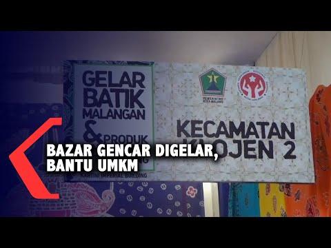 bazar gencar digelar untuk bantu umkm di tengah pandemi