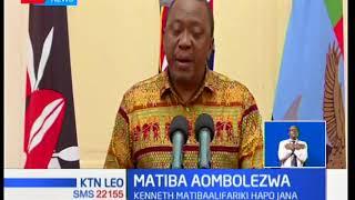 Mwanasiasa Kenneth Matiba ambaye alifariki jana aombolezwa