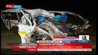 News Center: Exclusive facts on the Kahoya-Timboroa Accident with Elvis Kosgey at the Scene