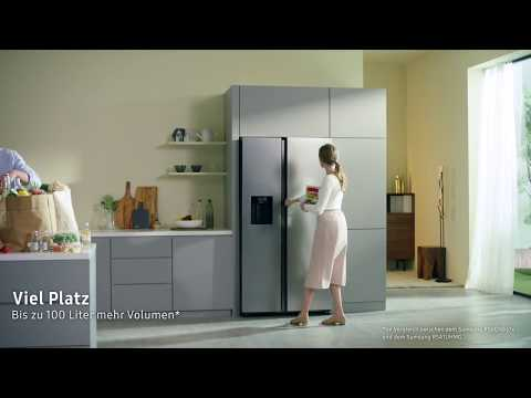Side By Side Kühlschrank Mit Fenster : Samsung rs n b ef side by side gefrierkombination ebay