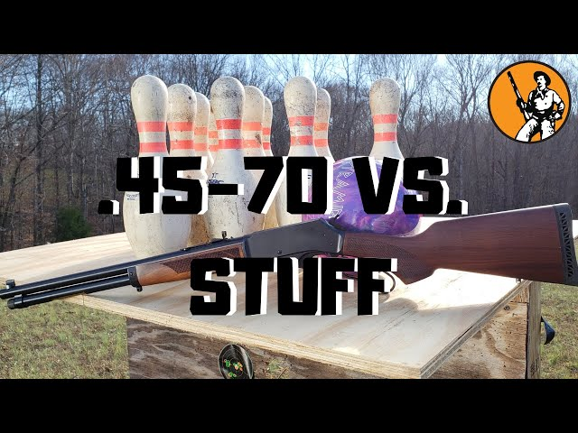 .45-70 Vs. Stuff - Episode 1 - Bowling