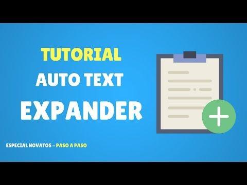 Tutorial: Auto Text Expander - Ahorra tiempo respondiendo
