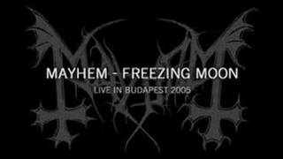 MayheM - Freezing Moon (Live In Budapest 2005)