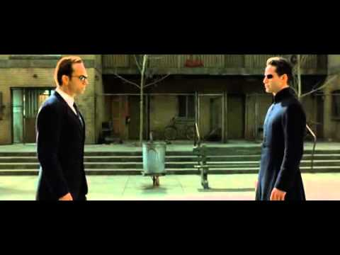 The Matrix Reloaded - Neo and Agent Smith [2003]