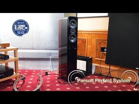 Q Acoustics Concept 500 HiFi Speakers LP12 Marantz 10 series QED Supremus @ Bristol Show 2018