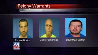 Men Arrested for Cemetery Thefts