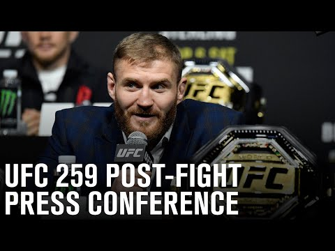 UFC 259: Post-fight Press Conference