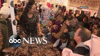 Black Friday Doorbuster Deals Create Chaos In Stores