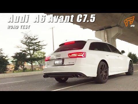 The iPE Exhasut for Audi A6 Avant (C7.5)