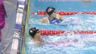 Moore and Esposito tie in 200m Back in Youth Olympics - Universal Sports
