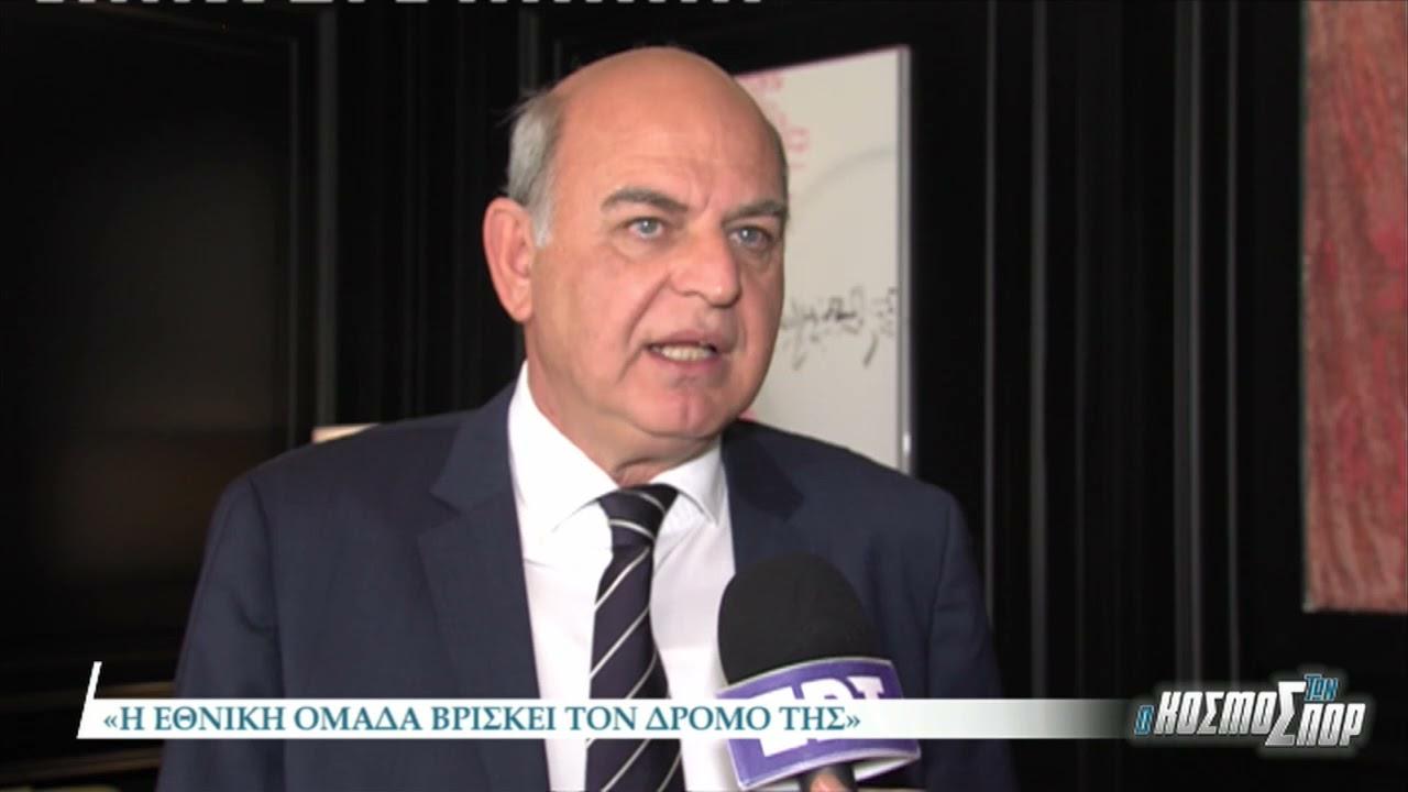 O πρώην πρόεδρος της ΕΠΟ, Βαγγέλης Γραμμένος αποκλειστικά στην ΕΡΤ3 | 30/03/2021 | ΕΡΤ