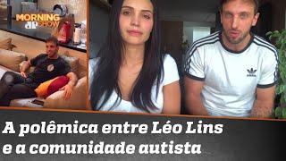 "Leo Lins se desculpa após polêmica envolvendo termo ""autista"""