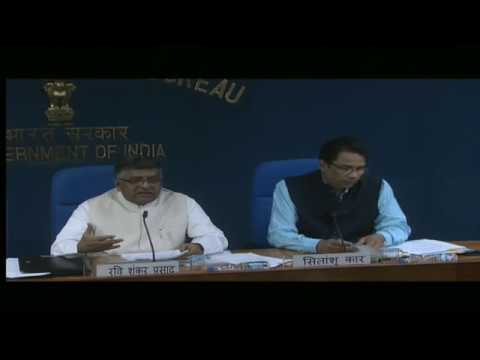 Cabinet Briefing by Union Ministers Ravi Shankar Prasad and Piyush Goyal