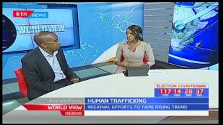 World View: Analysing the rise in human trafficking