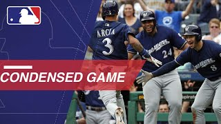 Condensed Game: MIL@PIT - 9/23/18 - Video Youtube
