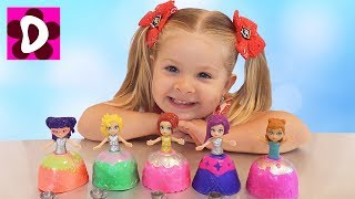 Cupcake surprise toys Cuppatinis dolls for children nursery rhymes songs