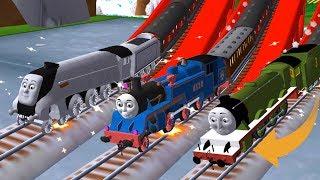 Thomas and Friends: Magical Tracks - Jump over the Broken Bridge!