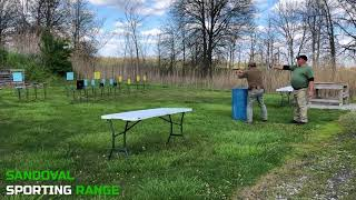 Action Pistol Match at Sandoval Range, Illinois - Shooter 7