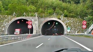 В ЕВРОПУ НА МАШИНЕ - ЕДЕМ ПО СЛОВЕНИИ. Виньетка, тоннели