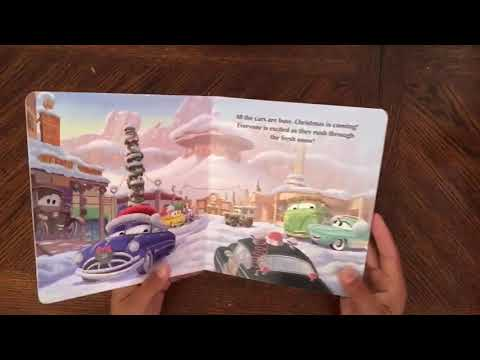 Disney•Pixar Cars: A Very Mater Christmas (Flip Through)