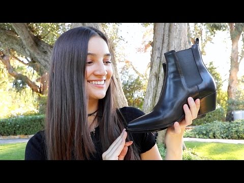 The BEST, MOST FLATTERING Ankle Boots/Chelsea Boots!! | Closet Closeup