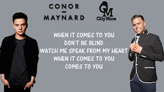 Conor Maynard, Olly Murs   2U (Lyrics) David Guetta Ft. Justin Bieber Mashup Cover