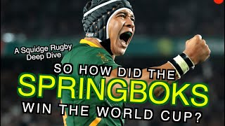 On November 2nd 2019, South Africa won the Rugby World Cup. And yet, just two years earlier, the team was in crisis. Political tension off the field and nothing but bad news on it, finding themselves on the wrong side of countless upsets, record losses, and embarrassing scorelines. So how did Rassie Erasmus rebuild the Springboks into a team who could take on the world and unite a nation?  If you've enjoyed any of the channel's content and are able to in the current climate, you can also support Squidge Rugby on Patreon by visiting https://www.patreon.com/SquidgeRugby.  You can also find the channel's new spin-off podcast on the 2011 Rugby World Cup at the following RSS- https://feeds.acast.com/public/shows/5ea1e945aa16014a1d301ac5