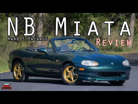 """1999 Mazda Miata """"Hard S Package"""" Review - A Factory Built Autocross Machine!"""
