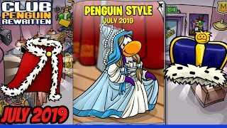 July 2019- Clothing Catalog Secrets!- Club Penguin Rewritten