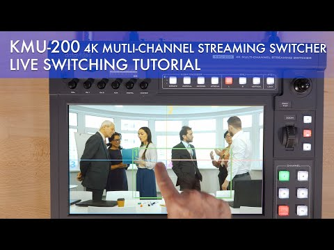 Datavideo KMU 200 - Live Switching How-To Tutorial