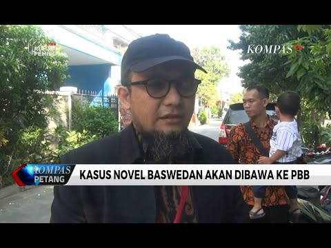 Kasus Novel Baswedan Akan Dibawa ke PBB Melalui Amnesty Internasional