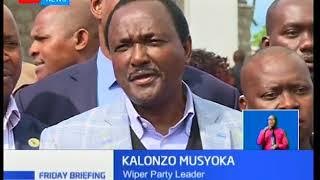 Kalonzo Musyoka: I will also visit Mzee Moi